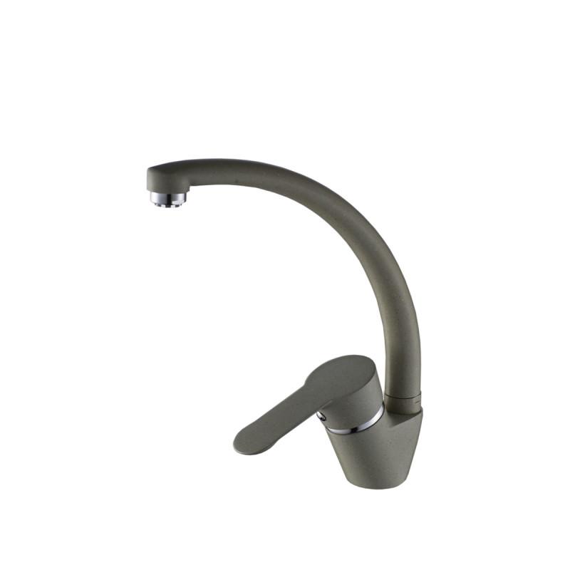 xGranit slavina Pelikan za sudoperu bež - tri cijevi
