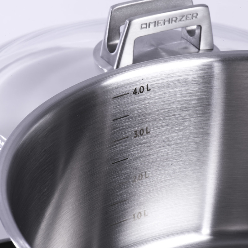 Metalac duboka šerpa MEHRZER 24cm/6lit