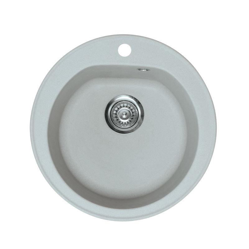 Metalac granitna usadna sudopera xVenera siva E510 ø90