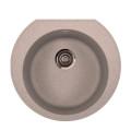 Metalac granitna usadna sudopera xOmega E520 bež Ø90