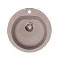 Metalac granitna usadna sudopera xVenera bež E510 ø90
